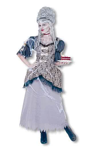 marie antoinette ghost costume m baroque rococo costumes. Black Bedroom Furniture Sets. Home Design Ideas
