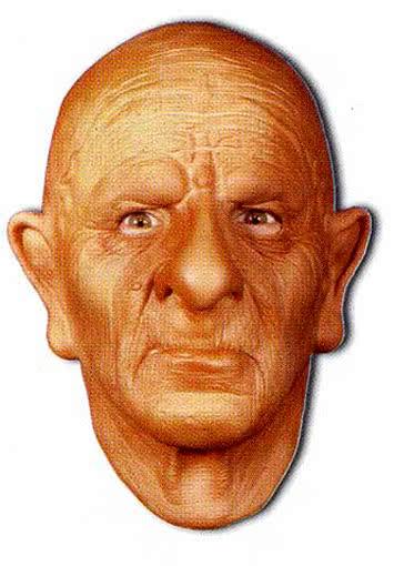 opa maske aus schaumlatex rentner maske eines alten manne horror shop com. Black Bedroom Furniture Sets. Home Design Ideas