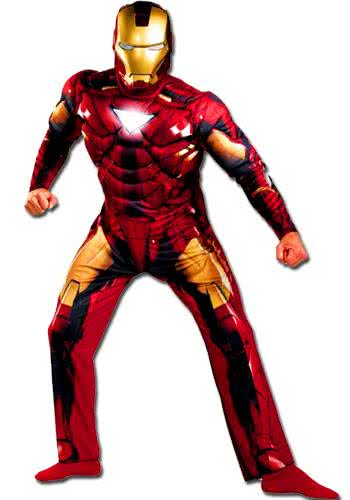 iron man kost m iron man maske iron man merchandise. Black Bedroom Furniture Sets. Home Design Ideas