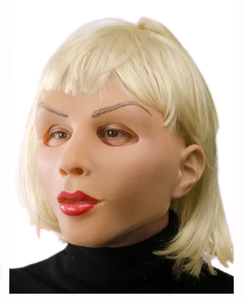 Frauen latex maske