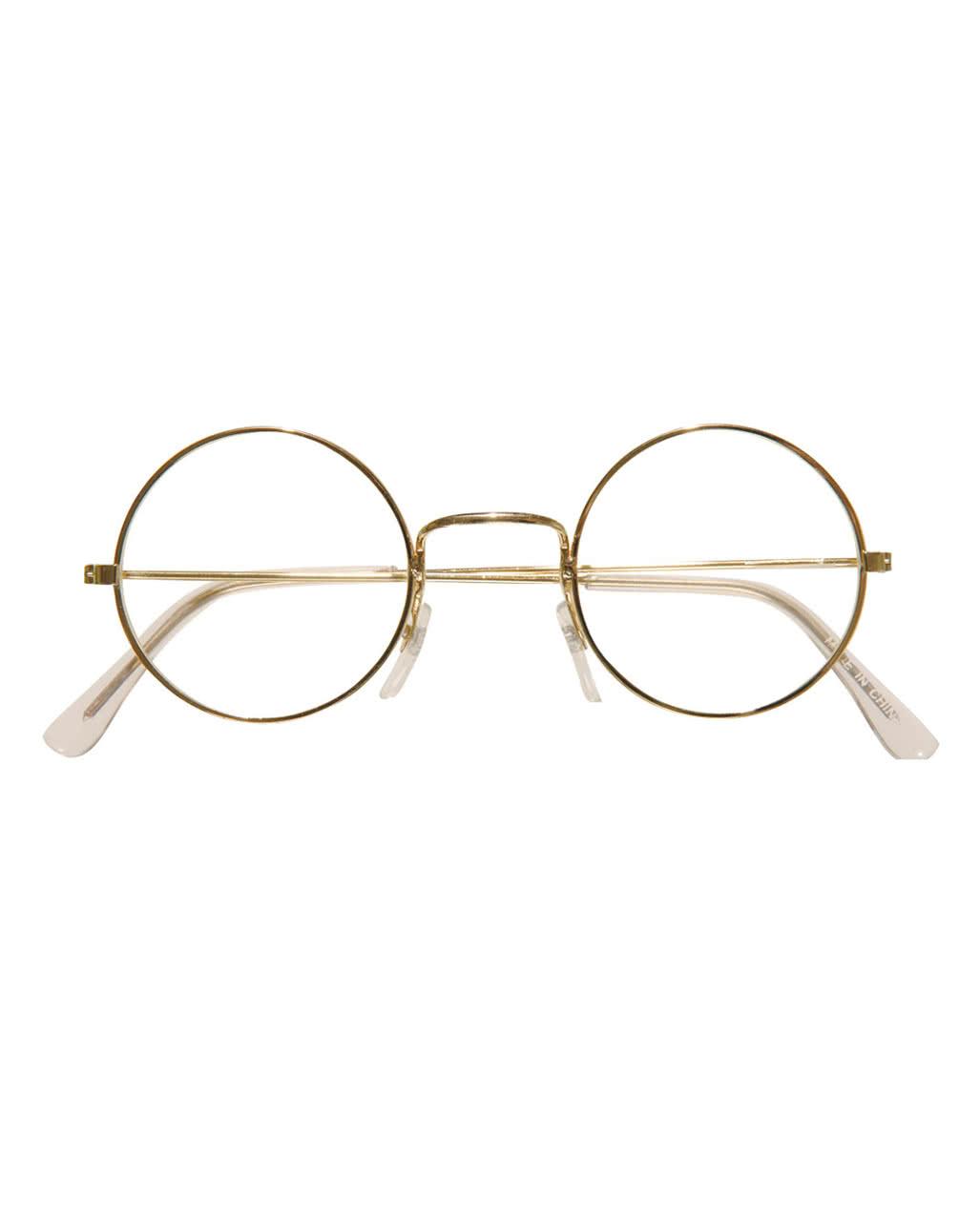 brille mit runden gl sern nikolaus brille scherzbrillen in gro er auswahl horror. Black Bedroom Furniture Sets. Home Design Ideas