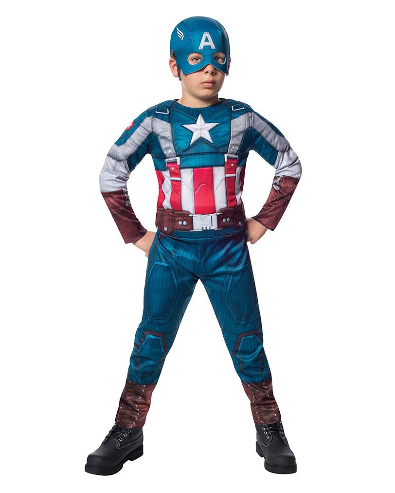 captain america kinderkost m mit muskeln marvel lizenz. Black Bedroom Furniture Sets. Home Design Ideas