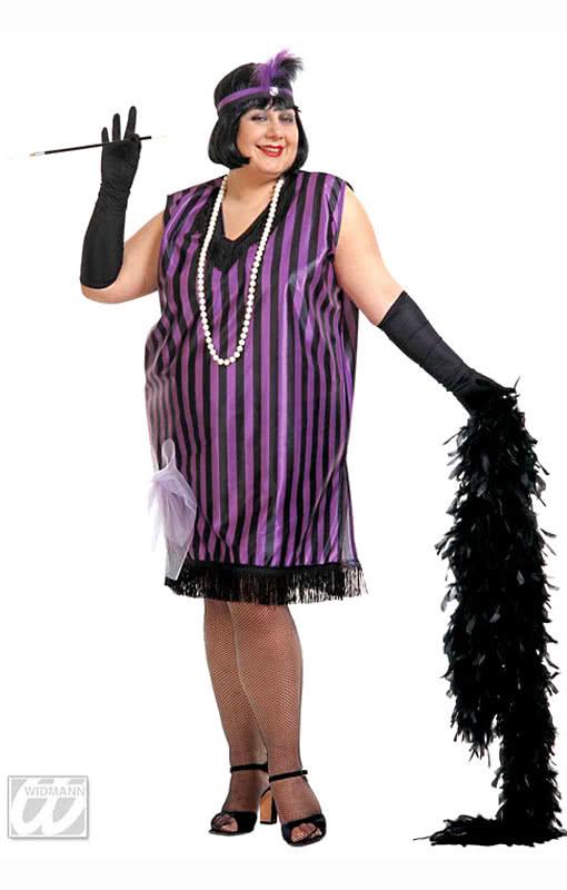 charleston kleid schwarz violett xl 20er jahre kost me horror. Black Bedroom Furniture Sets. Home Design Ideas