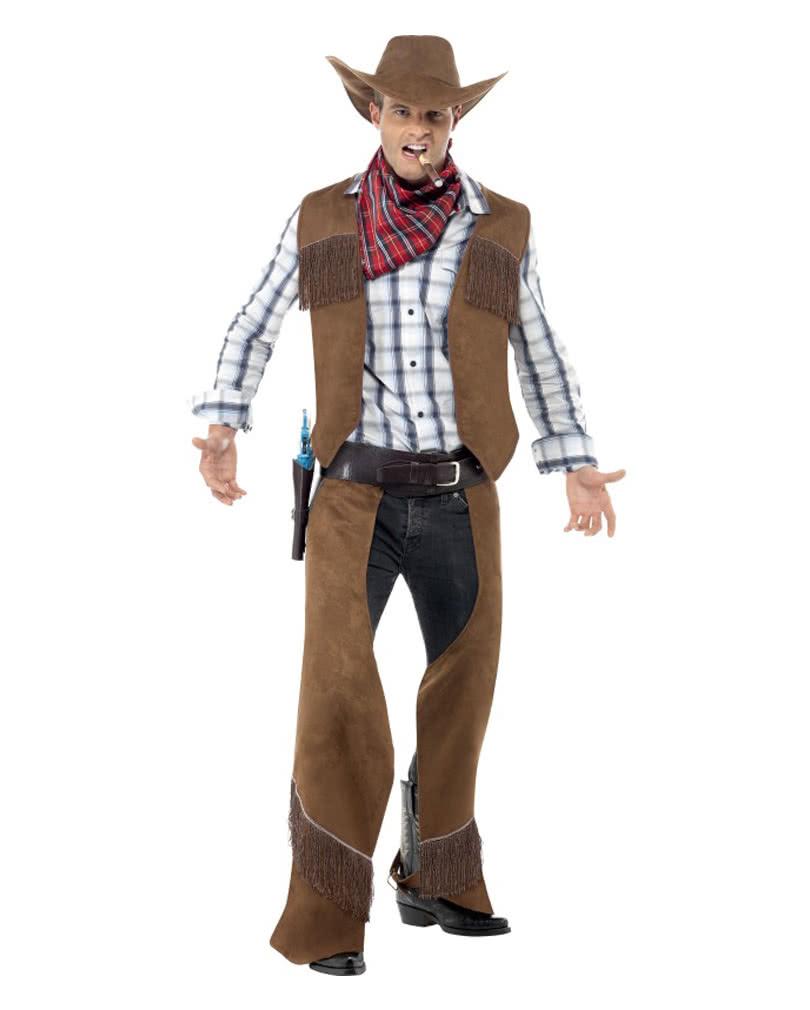 cowboy kost m mit hut f r deine wild west mottoparty horror. Black Bedroom Furniture Sets. Home Design Ideas