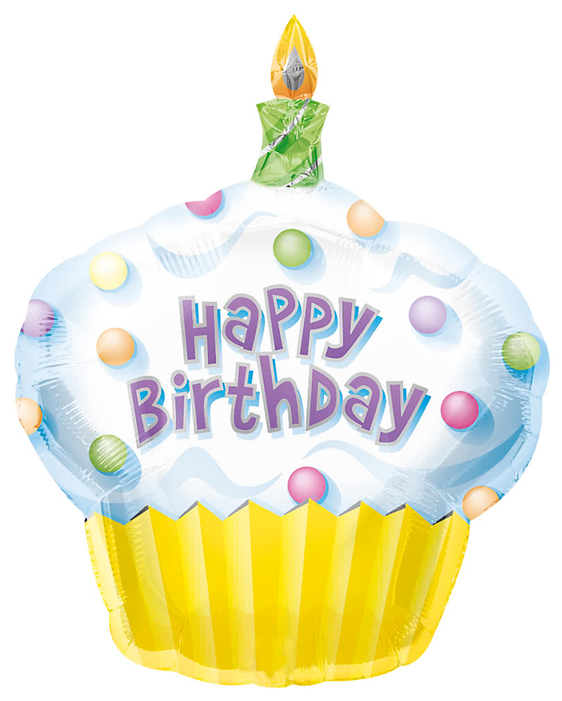 Cake Art Zubehor : Cup Cake Folienballon XL preiswerte Geburtstagsdeko ...