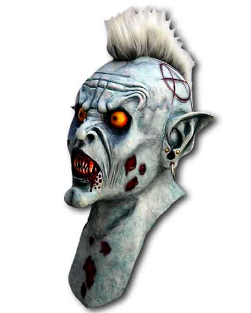 d mon varcolak maske zombie maske im punk style horror. Black Bedroom Furniture Sets. Home Design Ideas