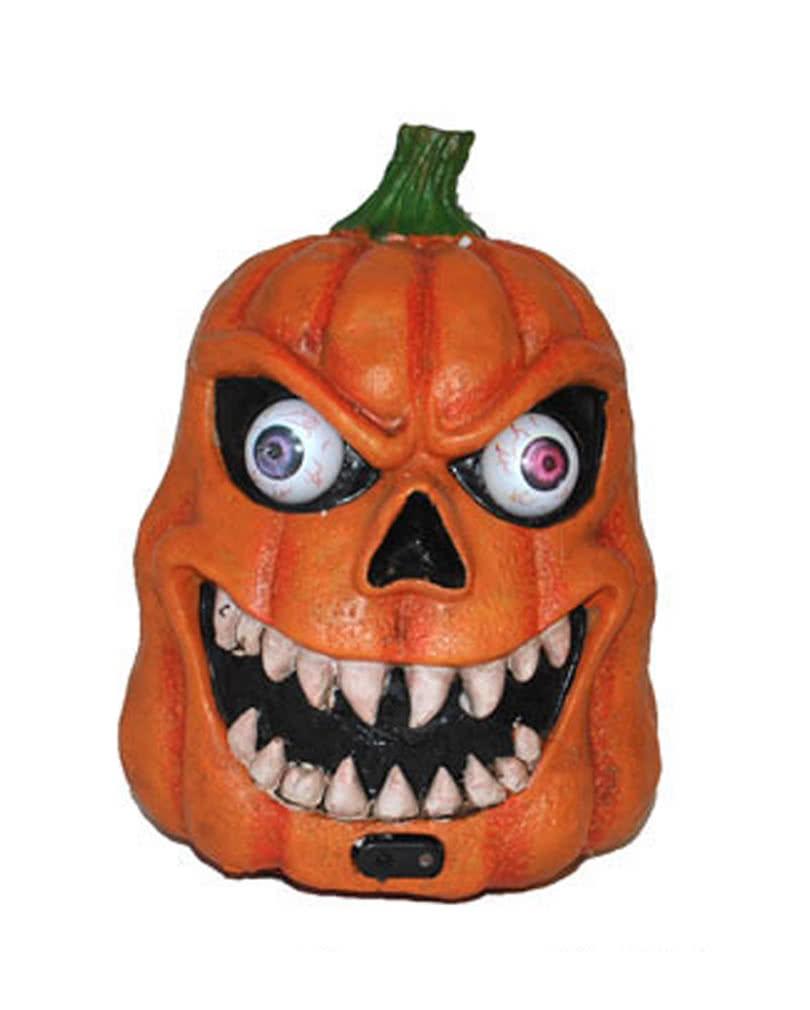 d monischer halloween k rbis mit led und sound geniale halloween dekoration horror. Black Bedroom Furniture Sets. Home Design Ideas