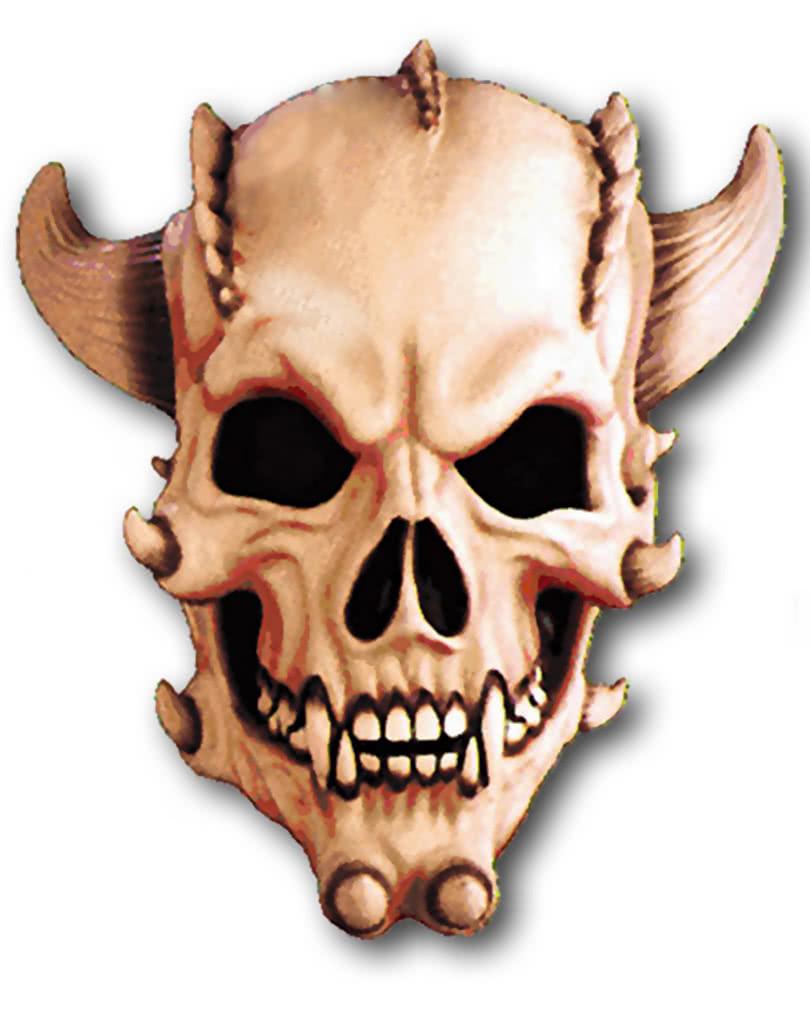 demon skull mask horror masks with skulls horror. Black Bedroom Furniture Sets. Home Design Ideas