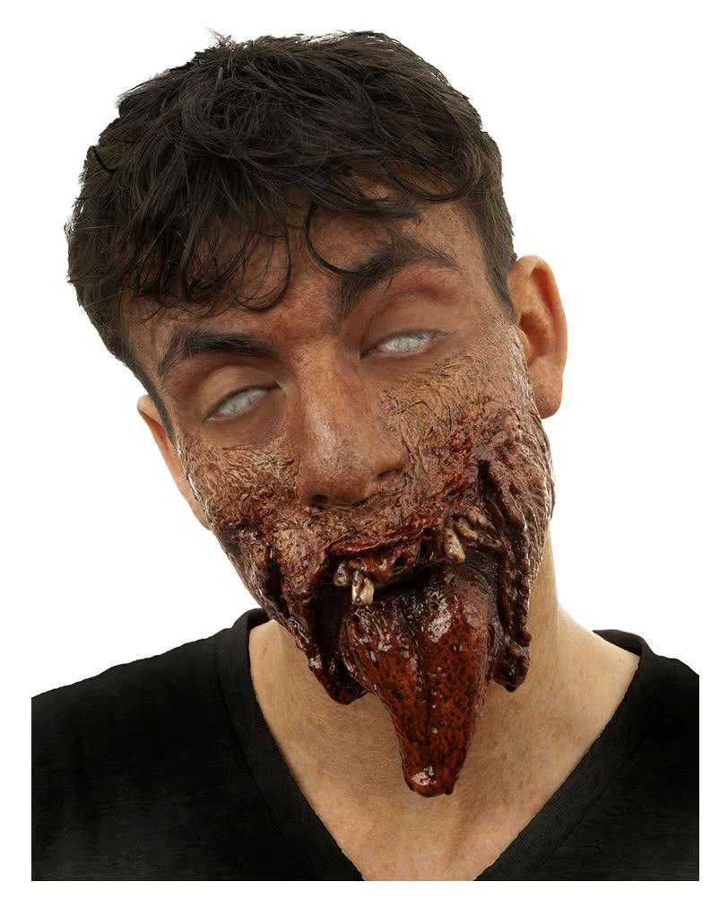 dr tung zombie halbmaske zombie wunde aus latex horror. Black Bedroom Furniture Sets. Home Design Ideas