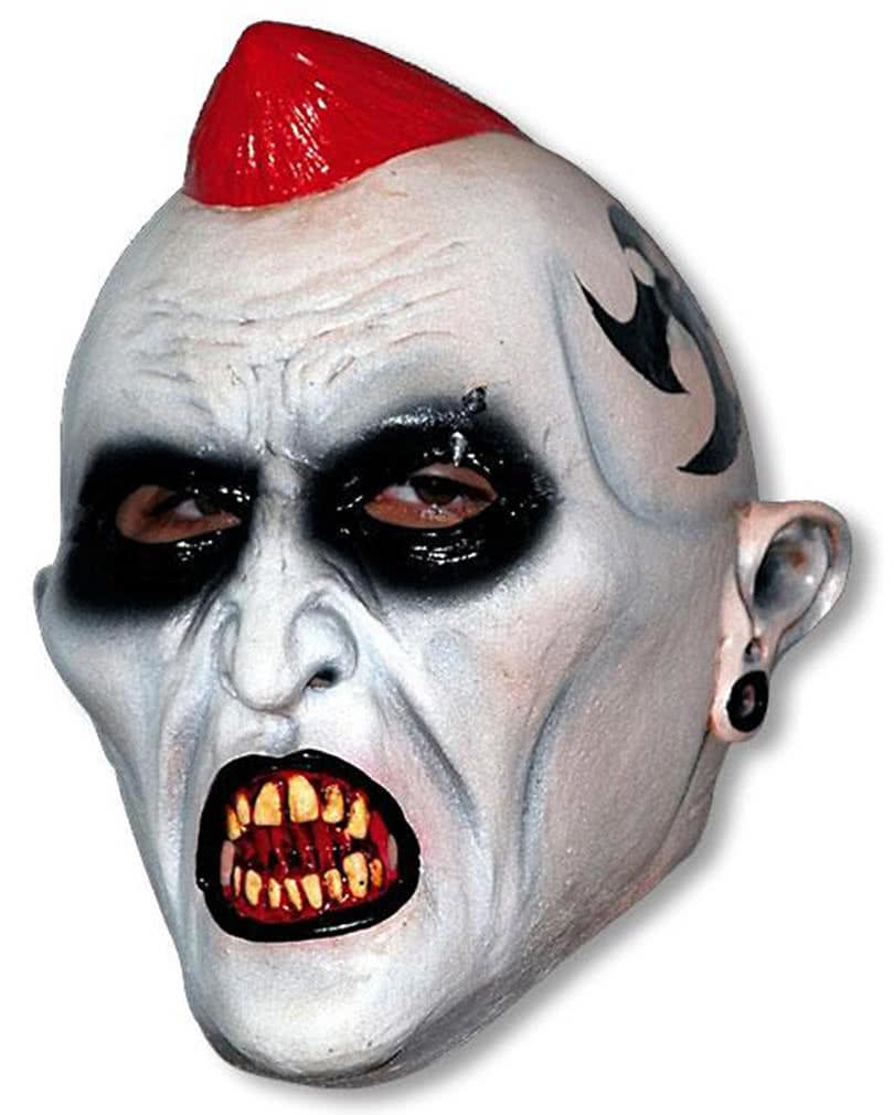 evil punk latex maske horror masken horror. Black Bedroom Furniture Sets. Home Design Ideas