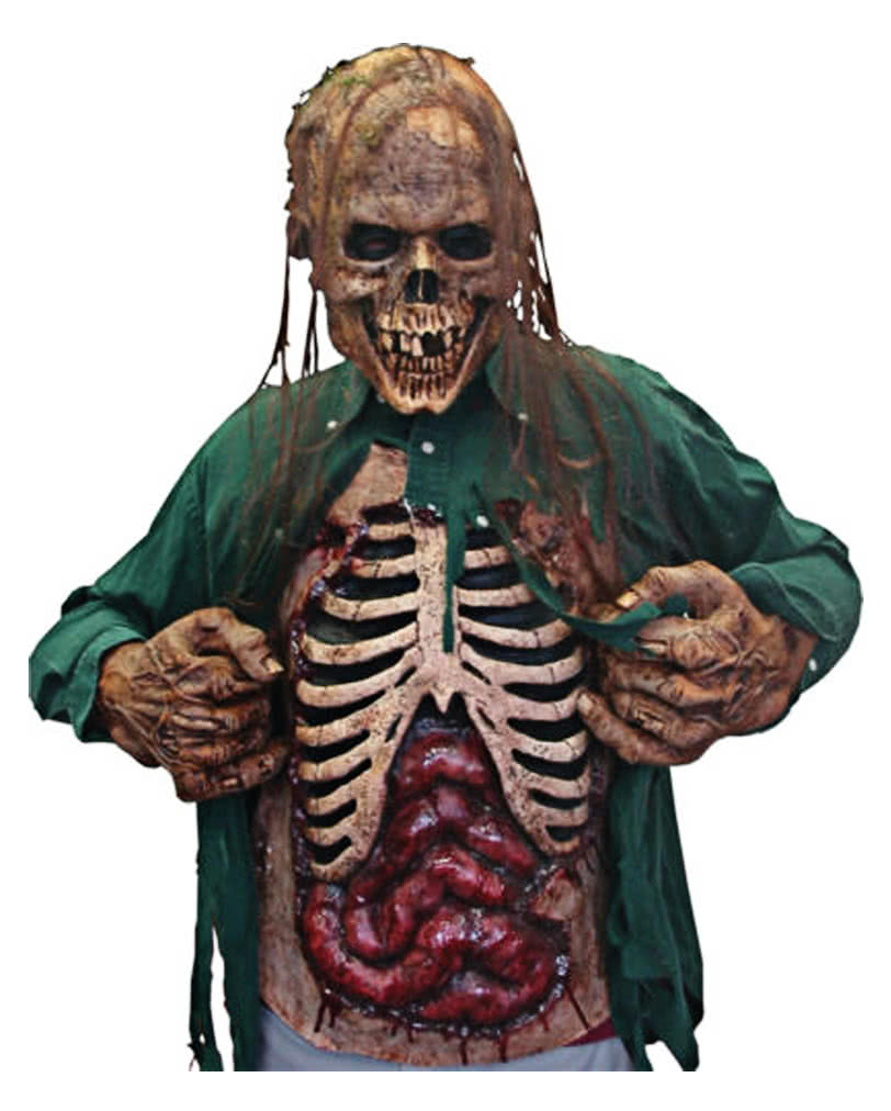Intestines Breastplate Zombie Costume Accessories Made