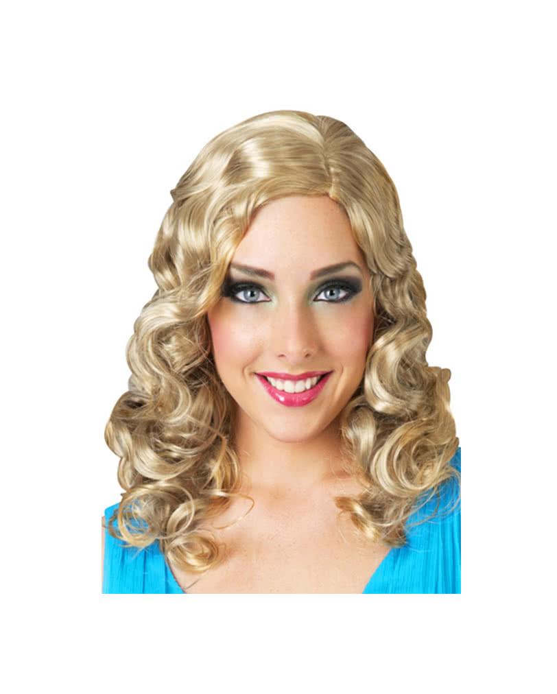 Blonde Curly Halloween Wigs 60