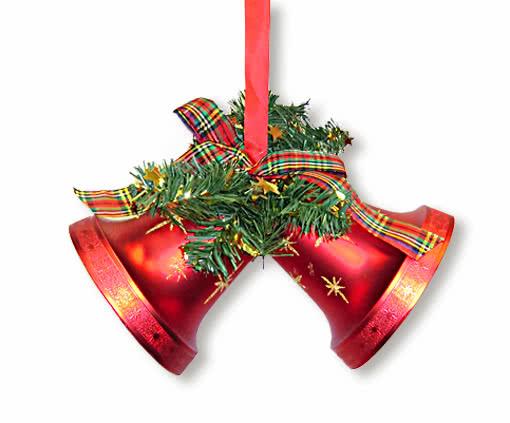 glocken h nger rot weihnachtsglocken zum aufh ngen. Black Bedroom Furniture Sets. Home Design Ideas