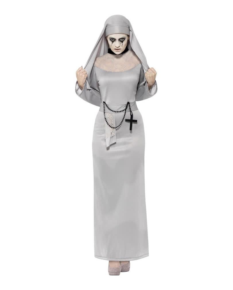 gothic nonnen kost m kl sterliche halloween verkleidung horror. Black Bedroom Furniture Sets. Home Design Ideas
