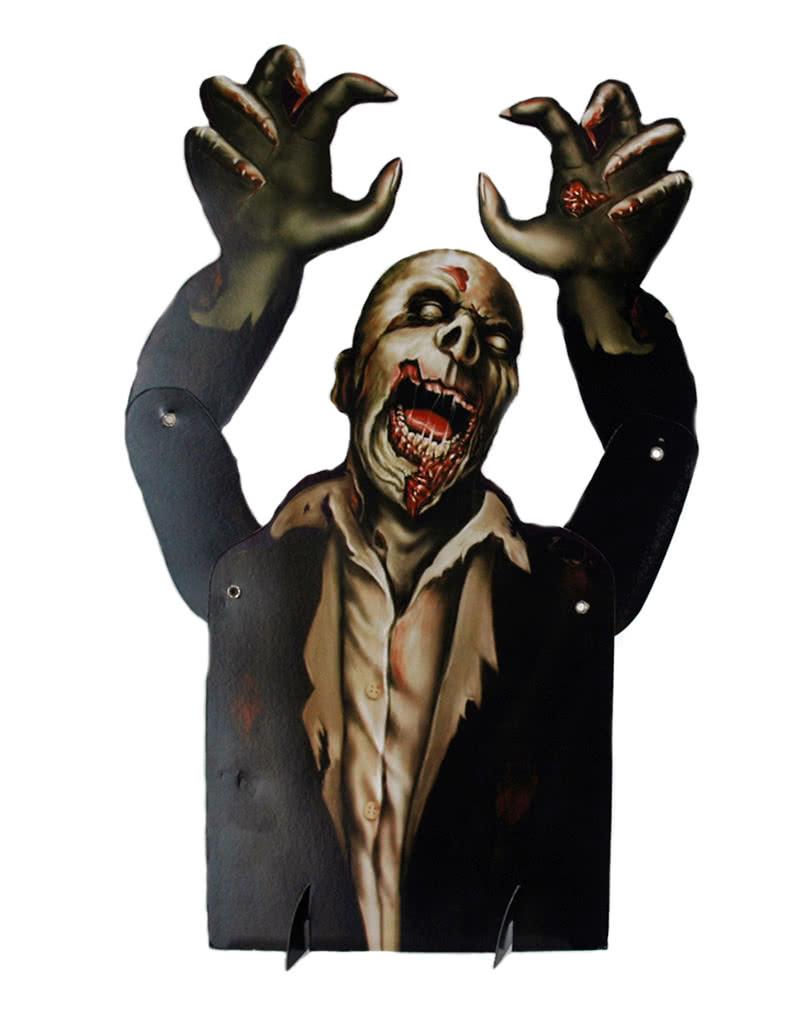 Halloween tischdeko zombie zombie aufsteller als halloween deko horror - Tischdeko halloween ...