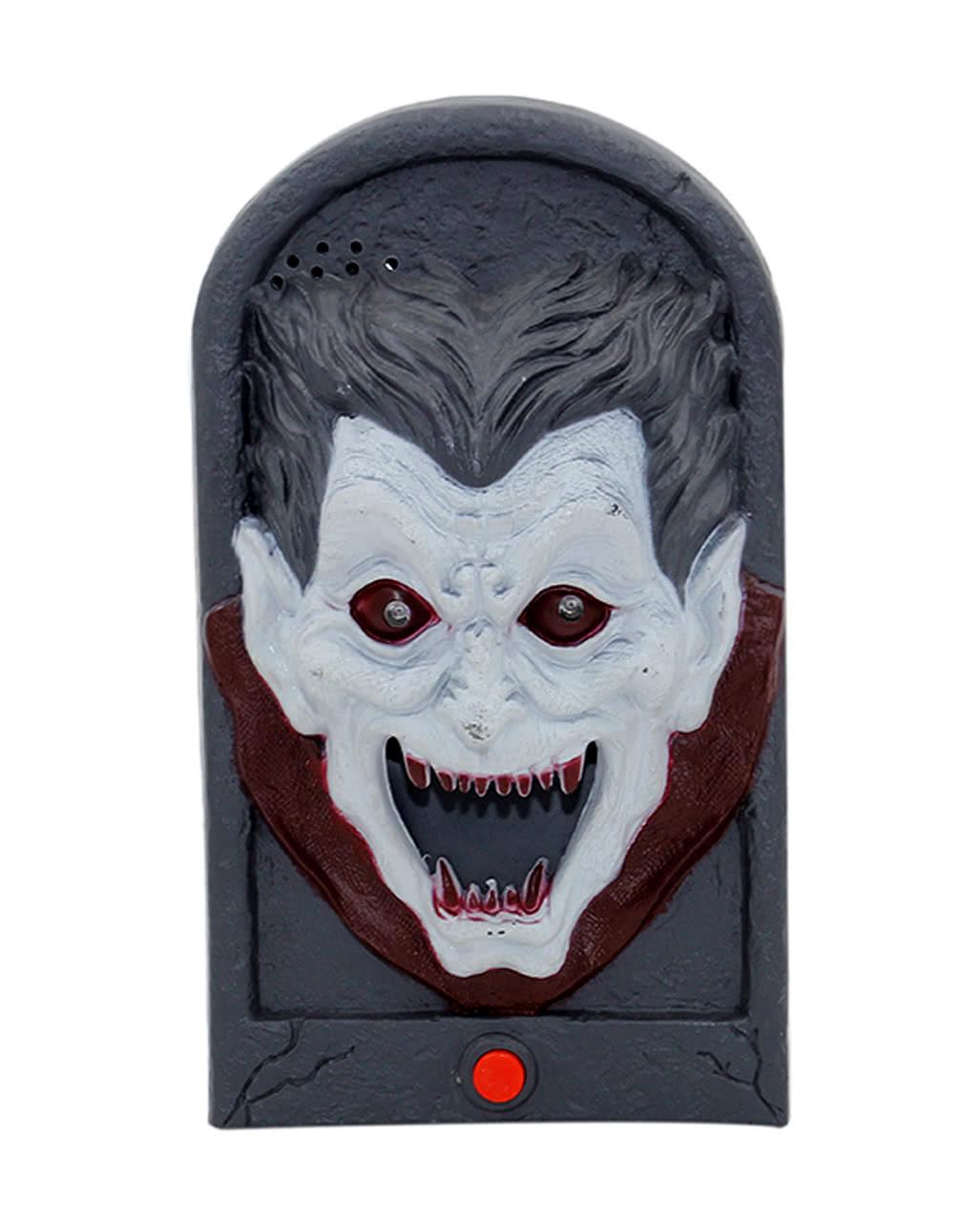 Decorating Ideas > Halloween Doorbell Vampire With Light & Sound Joke Article  ~ 084113_Halloween Doorbell Sounds
