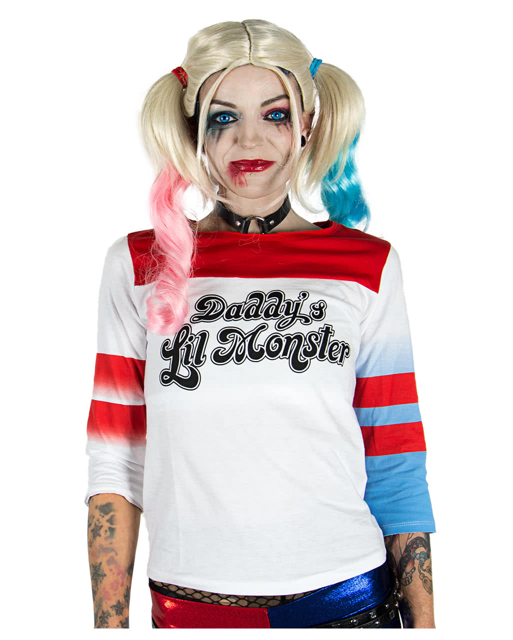 harley quinn suicide squad longsleeve kost mzubeh r. Black Bedroom Furniture Sets. Home Design Ideas