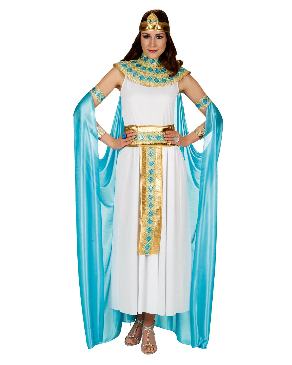 cleopatra damenkost m mit cape als karnevalskost m. Black Bedroom Furniture Sets. Home Design Ideas
