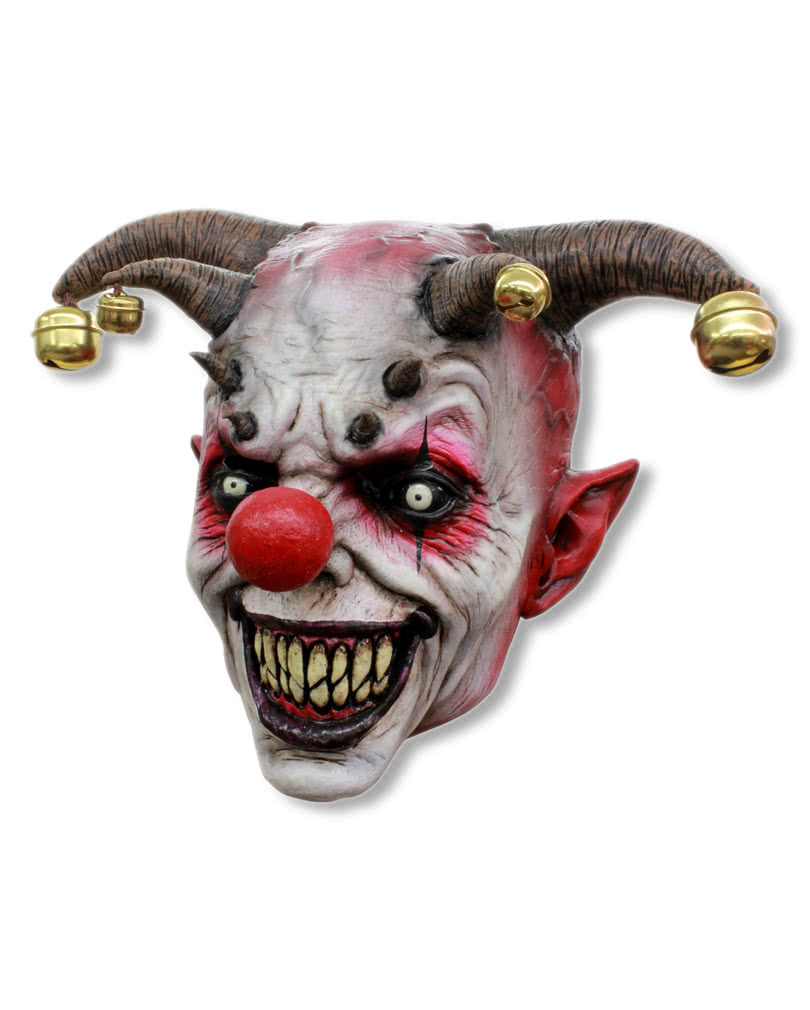 jingle jangle horrorclown maske gruselige clownmasken horror. Black Bedroom Furniture Sets. Home Design Ideas