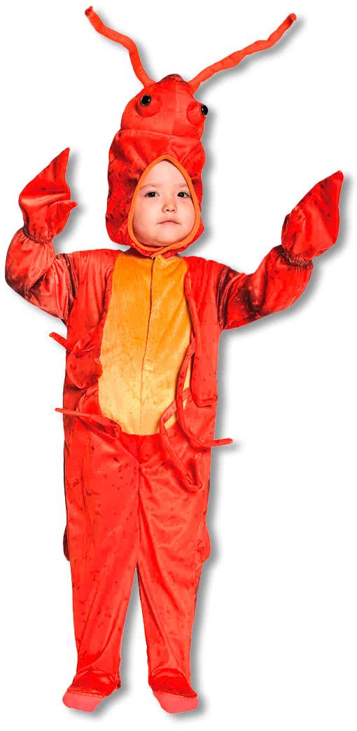 Little Lobster Kids Costume Medium Animal Outfits for Children Shrimp ... Lobster Kid