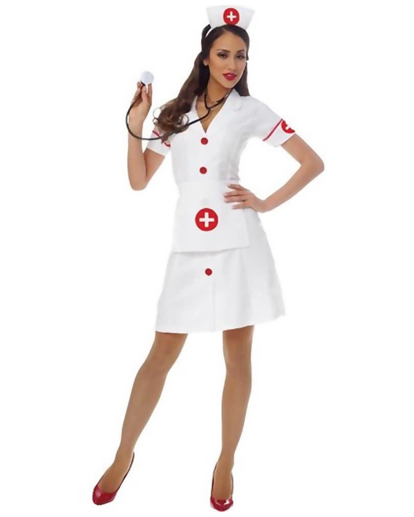 krankenschwester kost m sexy nurse uniform f r damen horror. Black Bedroom Furniture Sets. Home Design Ideas