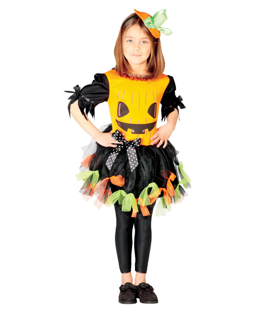 pumpkin girl costume for the next halloween horror. Black Bedroom Furniture Sets. Home Design Ideas