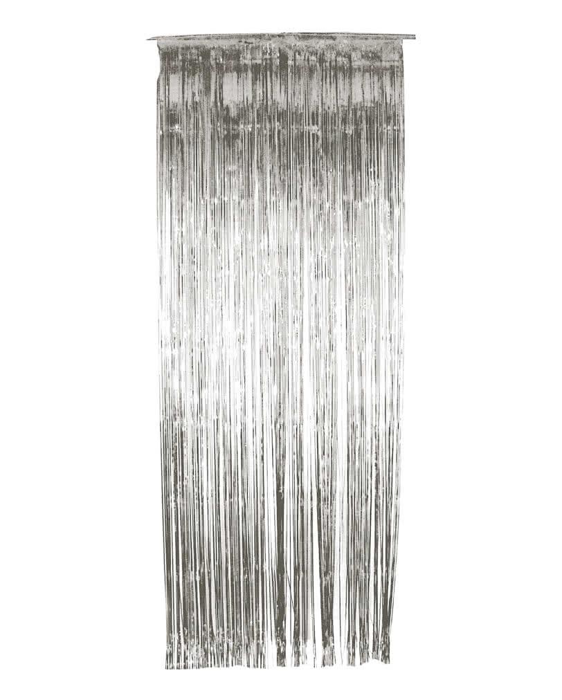 Lametta vorhang silber weihnachtsdeko g nstig kaufen for Lametta kaufen