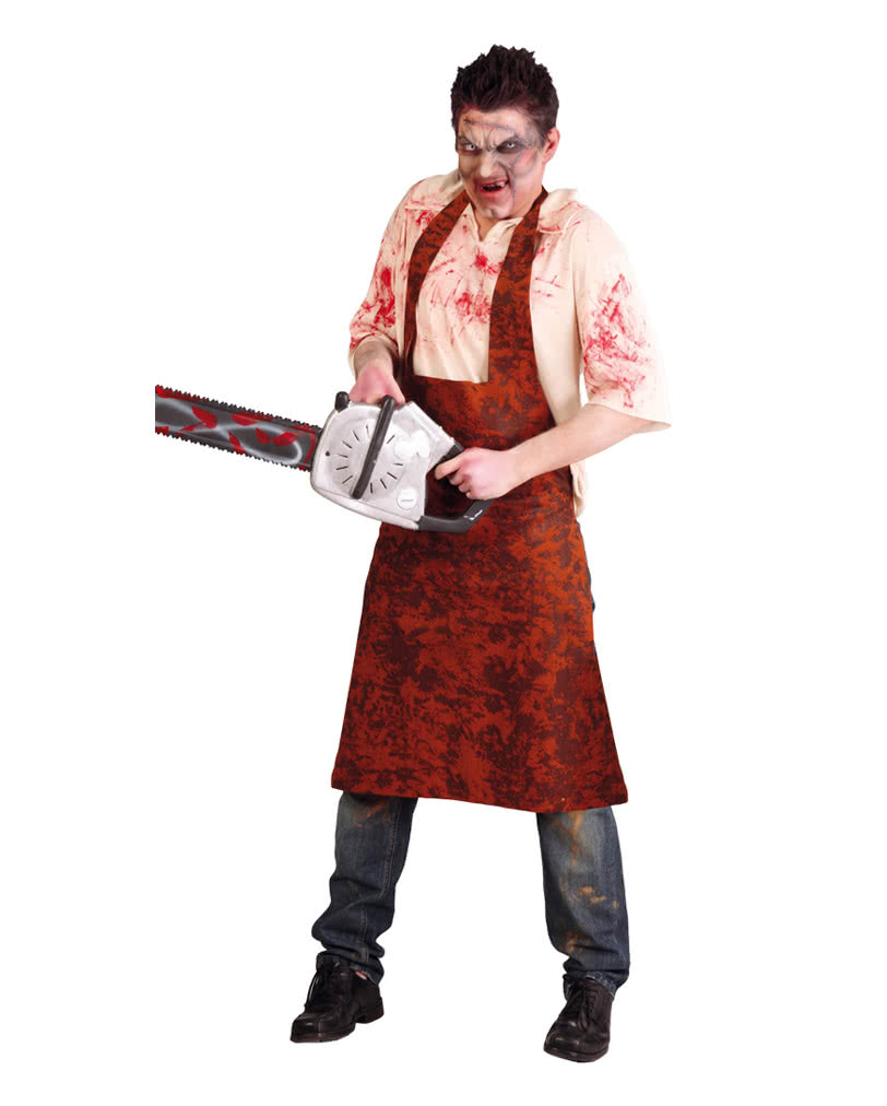 leatherface men costume hillbilly killer trim for men. Black Bedroom Furniture Sets. Home Design Ideas