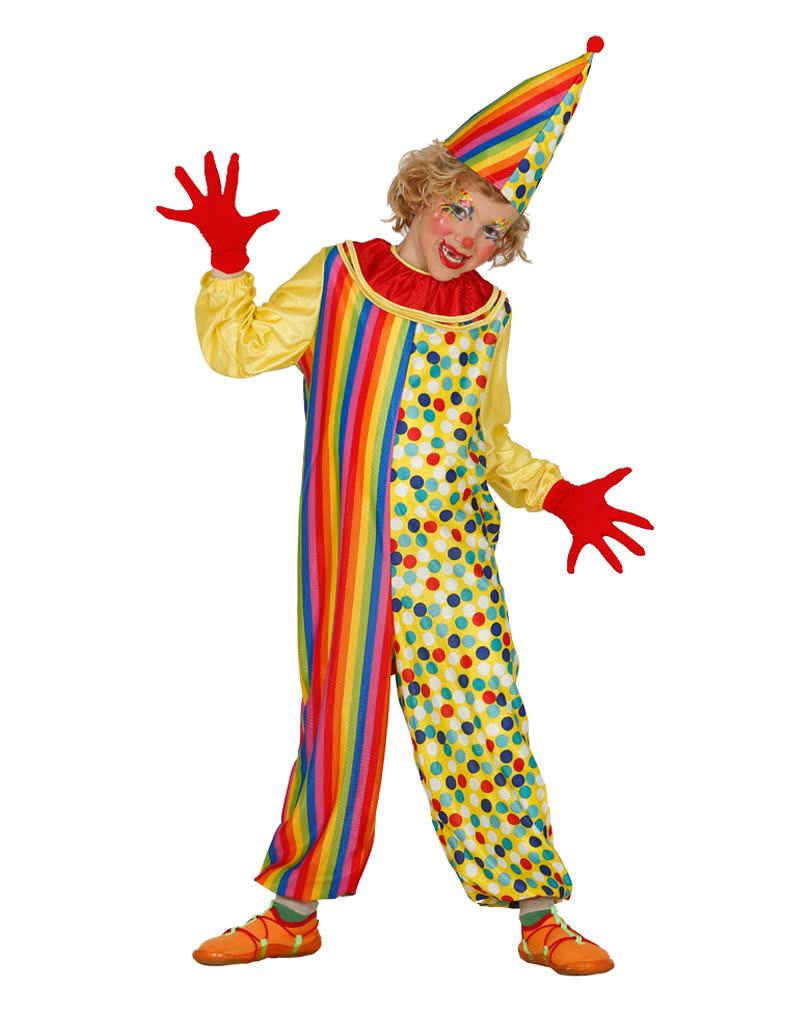 lustiger clown kinderkost m kinder als clown verkleiden horror. Black Bedroom Furniture Sets. Home Design Ideas
