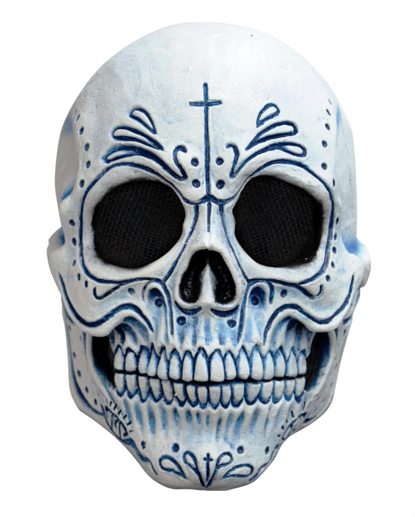 mexikanische totenkopf maske dia de los muertos maske. Black Bedroom Furniture Sets. Home Design Ideas