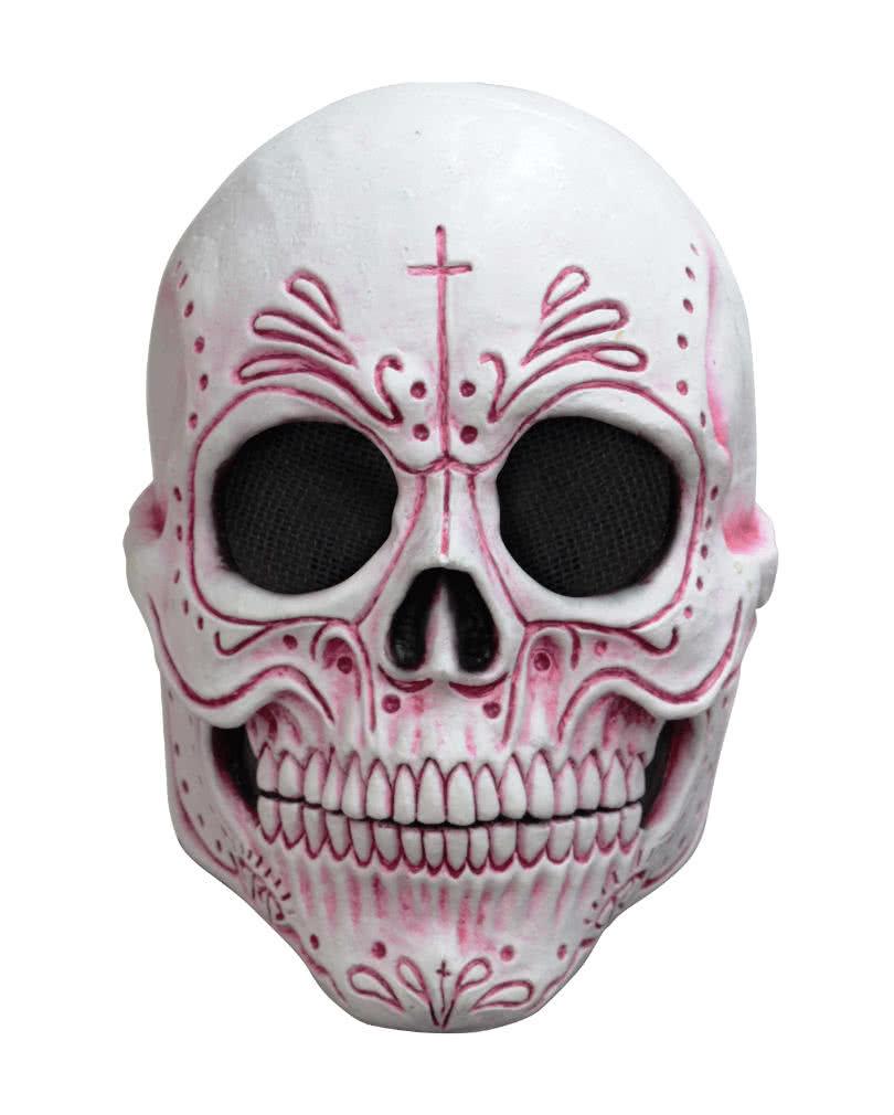 Mexican Sugar Skull Mask | Catrina Mask for Halloween ...