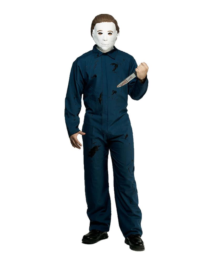 michael myers jumpsuit michael myers costume horror. Black Bedroom Furniture Sets. Home Design Ideas