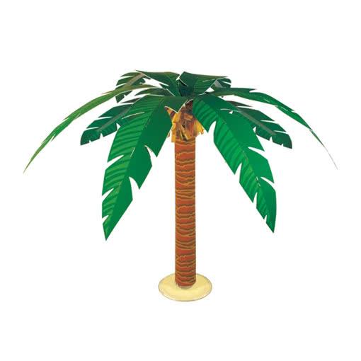 palme als tischdekoration 38cm hawaii partydekoration. Black Bedroom Furniture Sets. Home Design Ideas