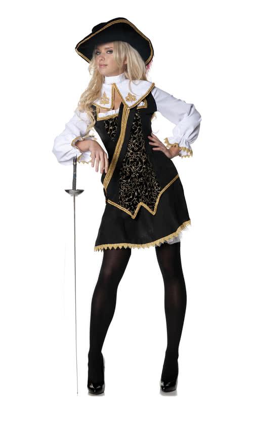 musketi re damenkost m edles kost m einer barocken. Black Bedroom Furniture Sets. Home Design Ideas