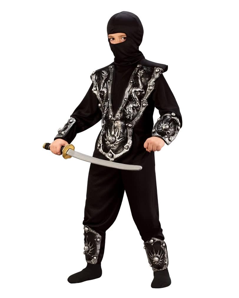 ninja kinderkost m 6 teilig 6 teiliges ninja kost m horror. Black Bedroom Furniture Sets. Home Design Ideas