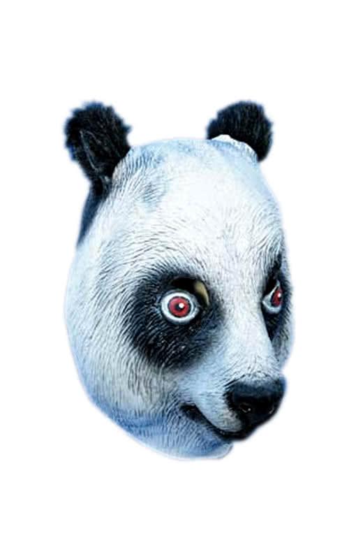 panda maske latex cro maske horror. Black Bedroom Furniture Sets. Home Design Ideas
