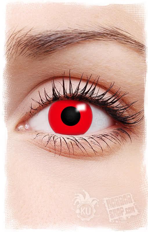 kontaktlinsen rot rote motivlinsen f r halloween. Black Bedroom Furniture Sets. Home Design Ideas