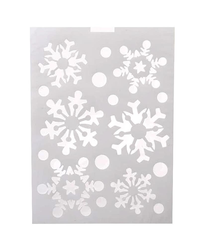 schneeflocken schablone praktische spr252hschnee schablone