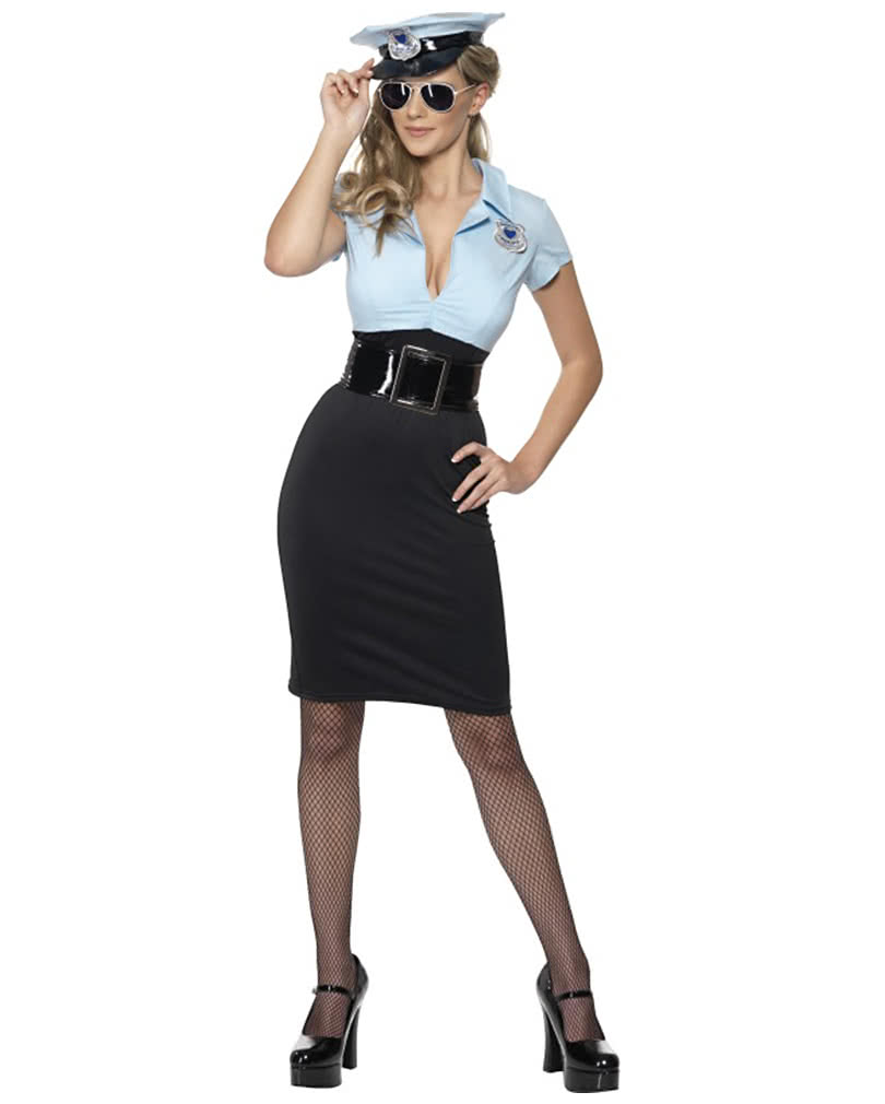 sexy politesse kost m polizistin uniform horror. Black Bedroom Furniture Sets. Home Design Ideas