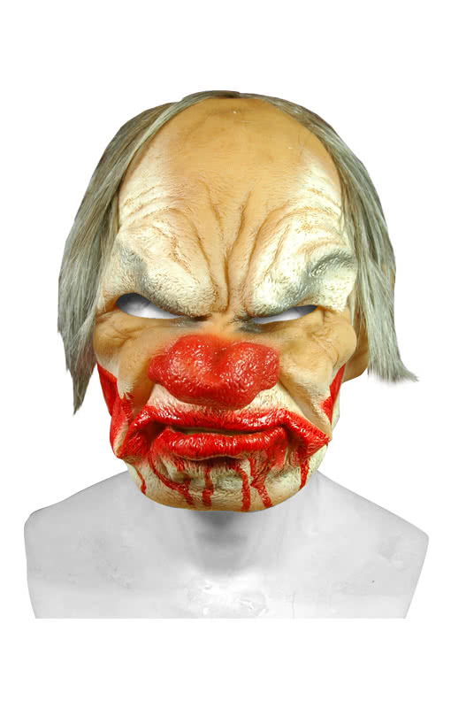Smiley Horror Clown Premium Mask -A Smiling Clown Mask ...