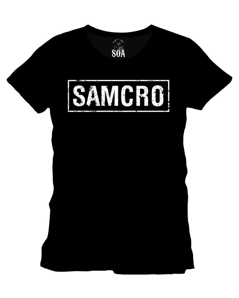 sons of anarchy samcro t shirt lizenz t shirt mit. Black Bedroom Furniture Sets. Home Design Ideas
