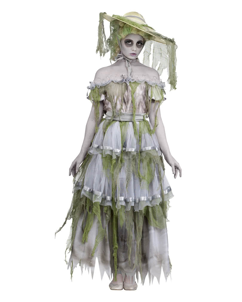 southern belle zombie costume zombie walk costume for women horror. Black Bedroom Furniture Sets. Home Design Ideas