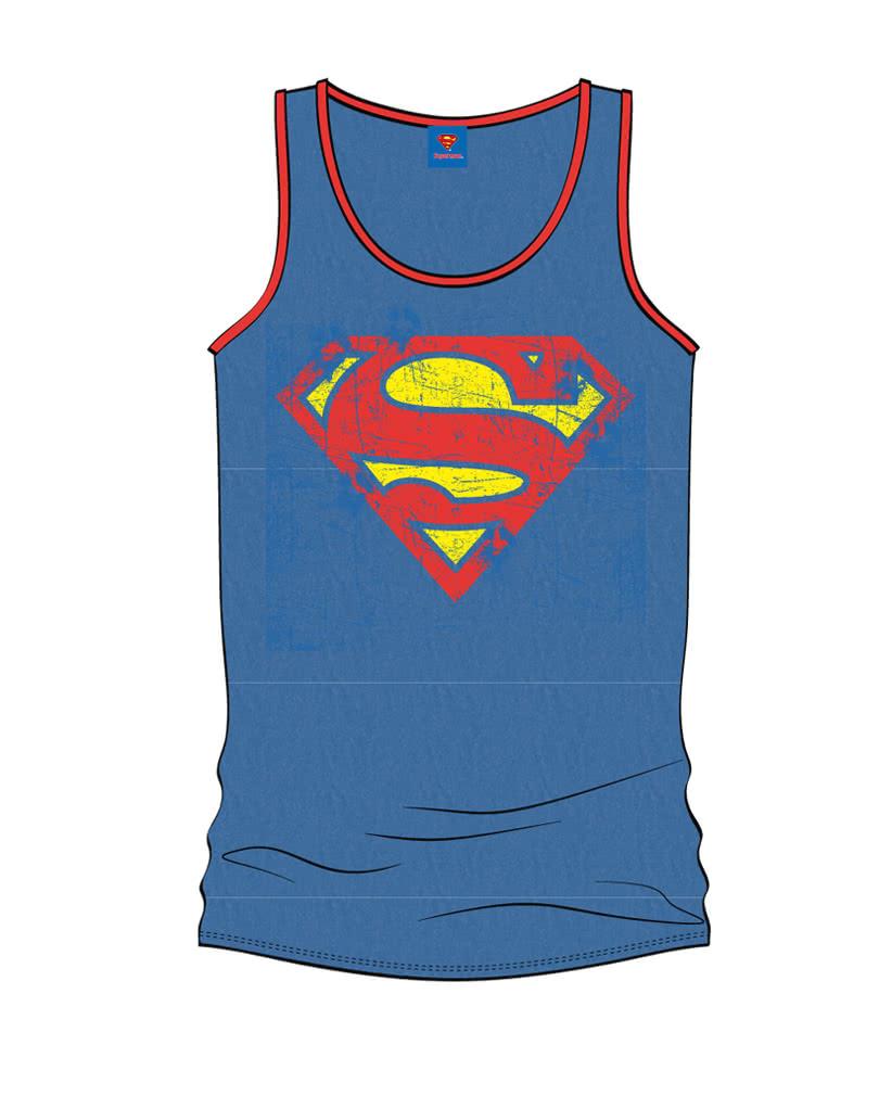 superman men s tank top official superman s tank top. Black Bedroom Furniture Sets. Home Design Ideas