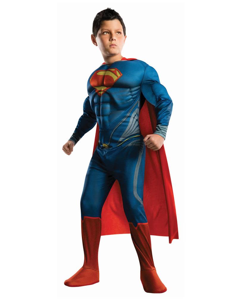 superman kinder muskel kost m superhelden verkleidung f r kids horror. Black Bedroom Furniture Sets. Home Design Ideas