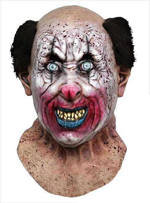 thriller clown mask horror clown zombie clown evil clown horror. Black Bedroom Furniture Sets. Home Design Ideas