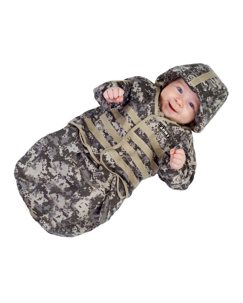 u s army baby tarn schlafsack als babykost m horror. Black Bedroom Furniture Sets. Home Design Ideas