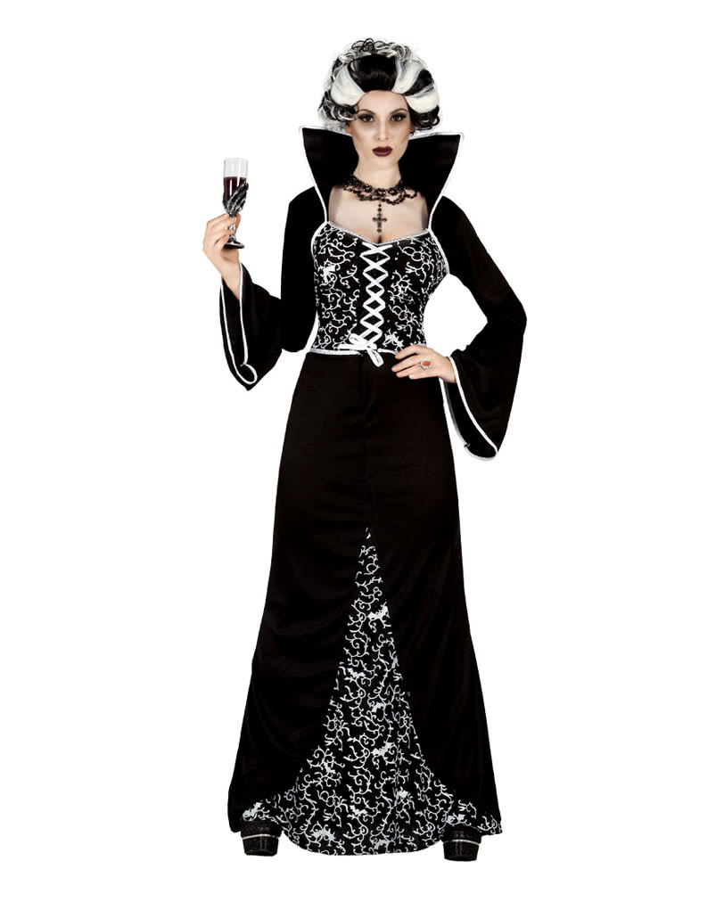 vampiresa elegantes kost m halloween abendkleid horror. Black Bedroom Furniture Sets. Home Design Ideas