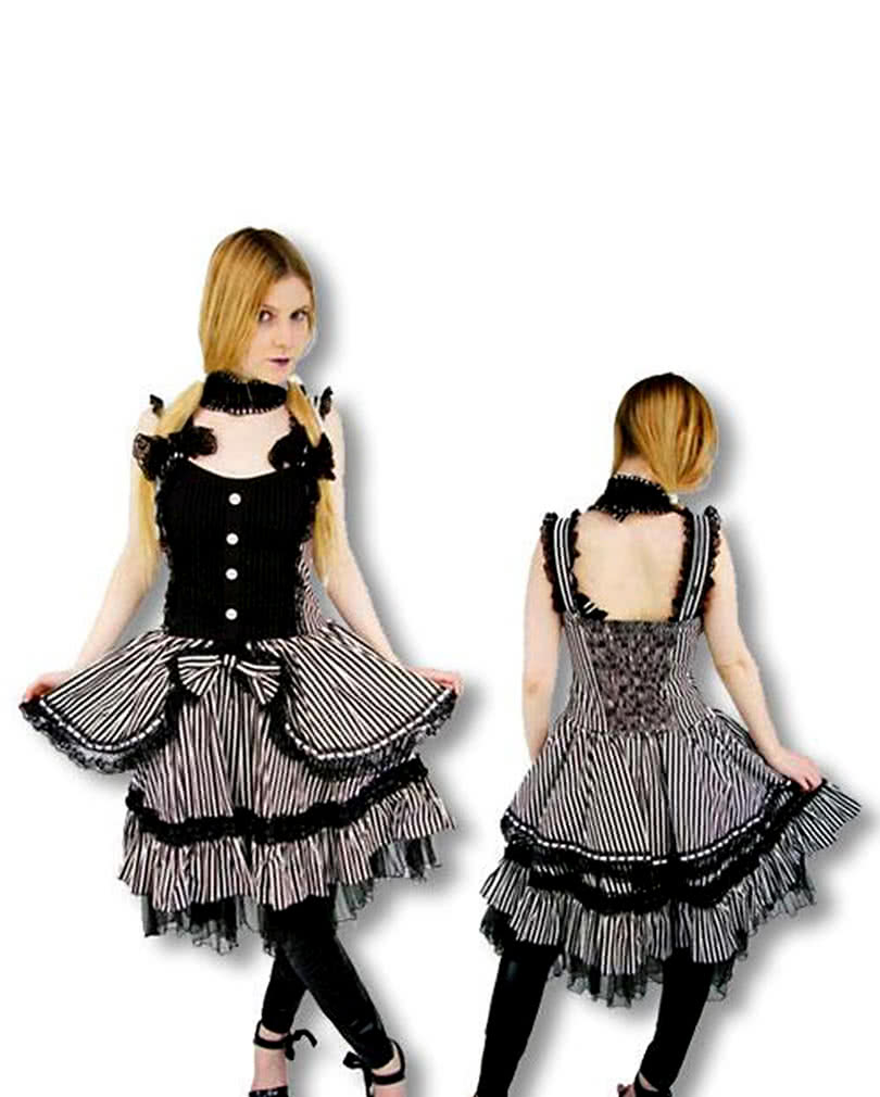 viktorianisches lolita kleid m gothic outfit horror. Black Bedroom Furniture Sets. Home Design Ideas