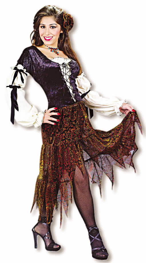 fortune teller costume gipsy costume gypsy costume. Black Bedroom Furniture Sets. Home Design Ideas