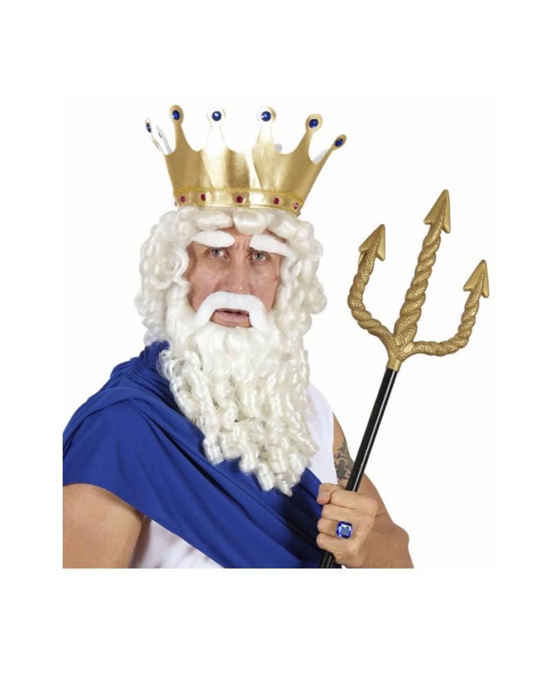 Zeus wigs Set | Neptune Percke and beard | horror-shop.com